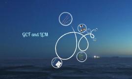 LCM and GCF
