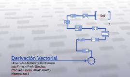Derivación Vectorial