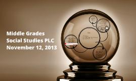 Middle Grades Social Studies PLC