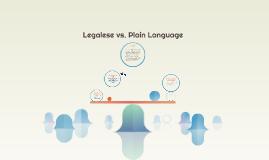 Legalese vs. Plain Language
