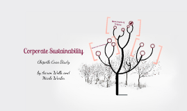 Corporate Sustainability Project