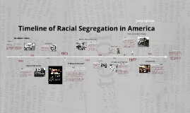 the issue of racial segregation in america The key reason why racism remains alive and well in america after the fraternity's pledges were accused of singing racial slurs to african american.