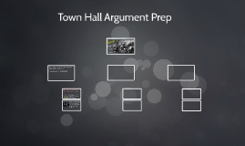 Town Hall Argument Prep