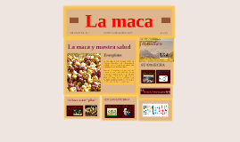 Copy of la maca peruana