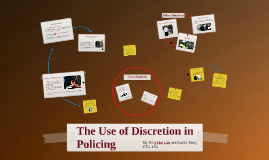 The Use of Discretion in Policing