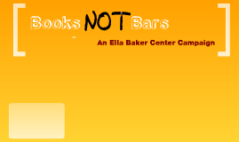 Books Not Bars
