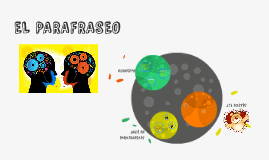 EL PARAFRASEO