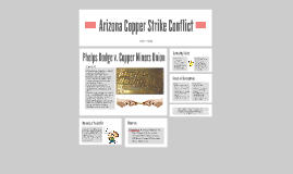 Arizona Copper Strike Conflict