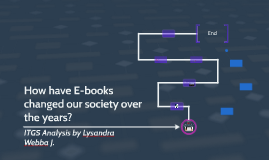 How have E-books changed our society over the years?
