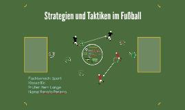 Strategien und Taktiken im Fußball