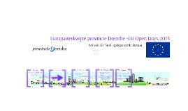 Ard van der Tuuk - Europawerkwijze provincie Drenthe