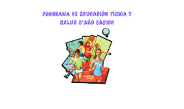 Programa de Educación Física y Salud 5°año básico