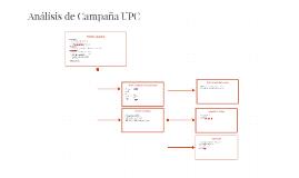 Annálisis de Campaña UPC