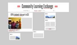 Community Learning Exchange