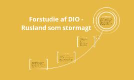 Copy of Forstudie af DIO
