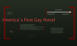 America' s First Gay Novel