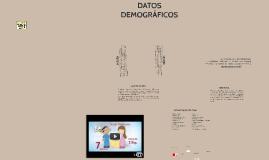 EVALUACIÓN Y AJUSTES DE DATOS DEMOGRAFICOS