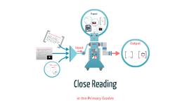 Close Reading (Primary)