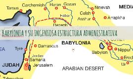 Babilonia, ejemplo de la administracion