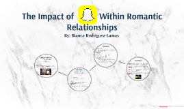 The Impact of Snapchat Within Romantic Relationships