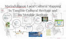 Marindukanon Local Cultural Mapping