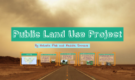 Public Land Use Project