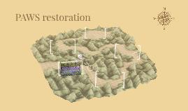 PAWS restoration