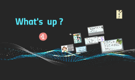 Module 1 - What's up ? - Traveller 2