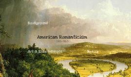 Copy of American Romanticism