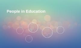 People in Education