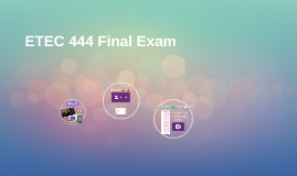 ETEC 444 Final Exam