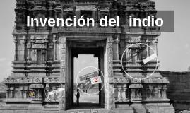 Invención del  indio