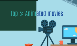 Top 5 animated movies