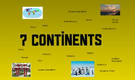 Copy of 7 Continents
