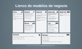 Copia de Lienzo de modelos de negocio