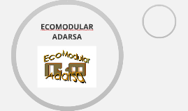 ECOMODULAR