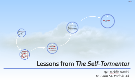 Lessons from The Self-Tormentor
