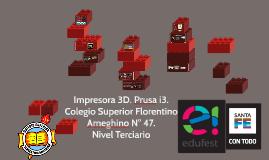 Impresora 3D. Prusa i3.