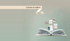 Cultures et valeurs : transmission ...