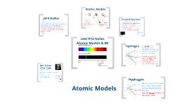 Unit #13 - Atomic Models & ER