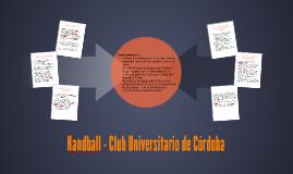 Handball- Club Universitario de Cordoba