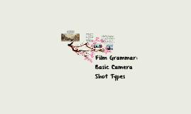 Copy of Film Grammar: Basic Camera Shot Types