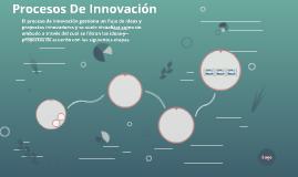 Procesos De Innovación