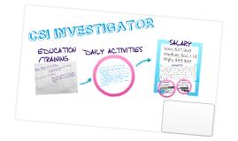 CSI Investigator