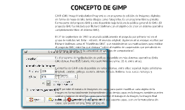 EXPOSICION DE GIMP