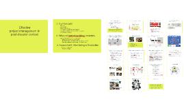RMIT PCPM_Project management approach