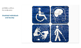 Disabled individuals and scty