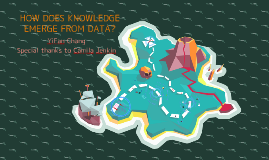 How does knowledge emerge from data?