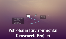 Petroleum Environmental Reasearch Project