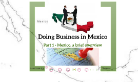 Doing Business in Mexico - 1
